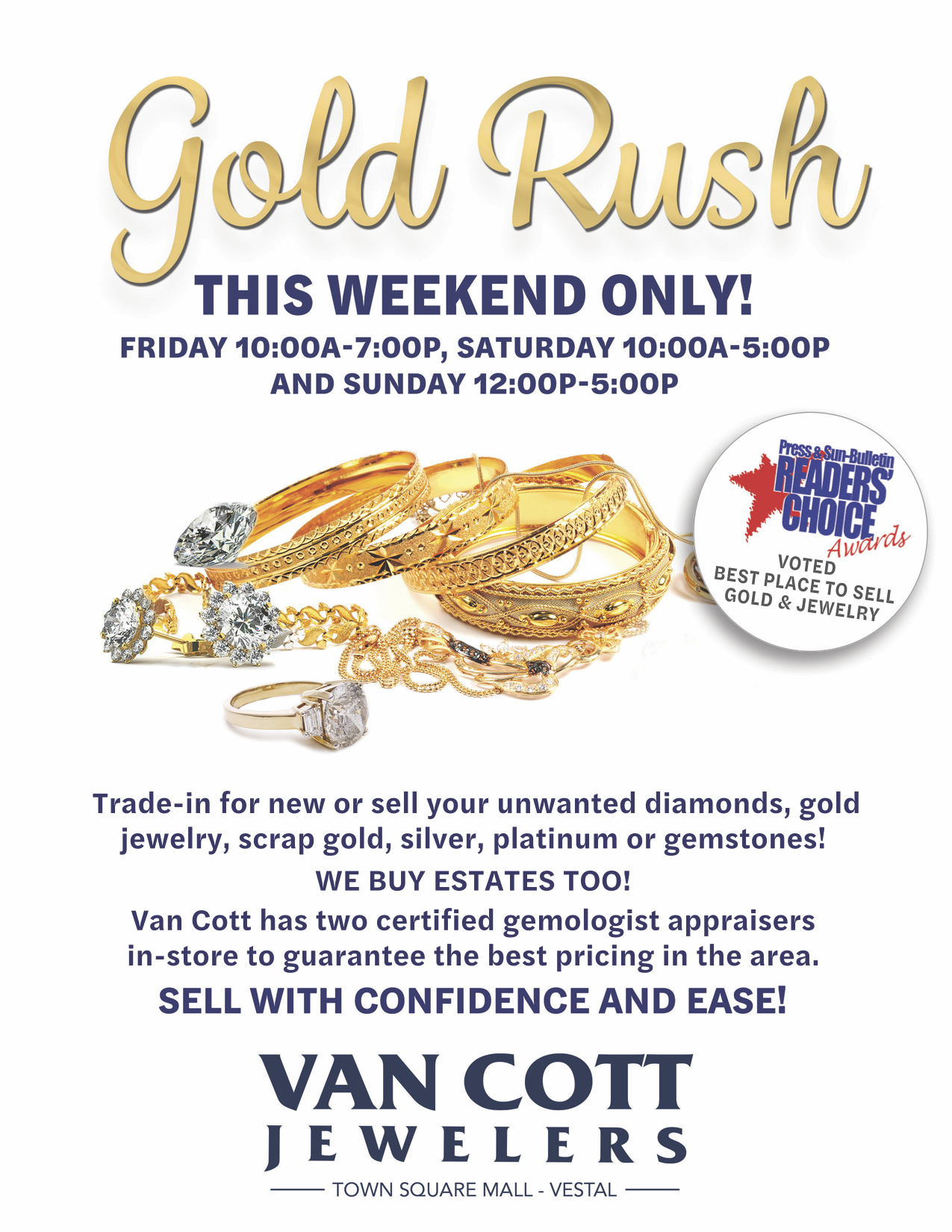 Gold Rush Weekend