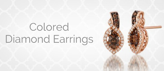 Colored Diamond Earrings