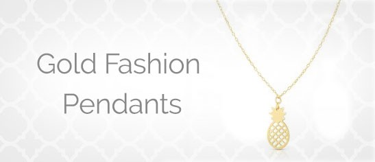 Gold Fashion Pendants