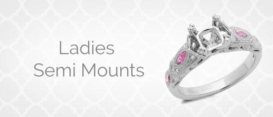 Ladies Semi Mounts