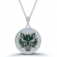 Bearcats Diamond accent Circle Necklace