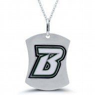 Bearcats B Dogtag Necklace