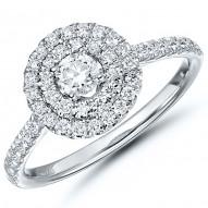 Round Diamond Classic Engagement Ring