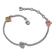 Elle Fashion Love Knots Bracelet