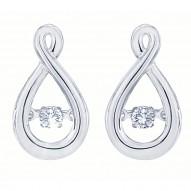 Dazzling Diamonds teardrop Earrings