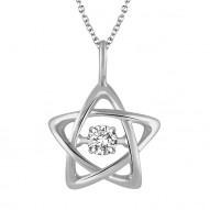 Dazzling Diamonds Star Pendant