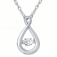 Dazzling Diamonds Teardrop Pendant