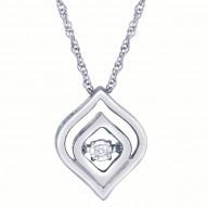 Dazzling Diamonds Pendant