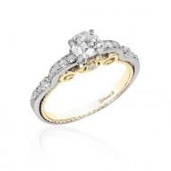 Cinderella Carriage Bridal Ring