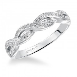 Gabrielle 14K White Gold WEDDING BAND