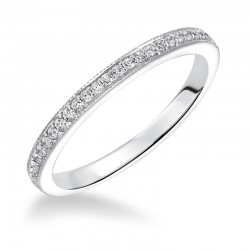 Calla 14K White Gold WEDDING BAND