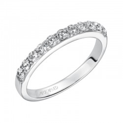 Mia 14K White Gold WEDDING BAND