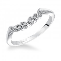 Corinne 14K White Gold WEDDING BAND