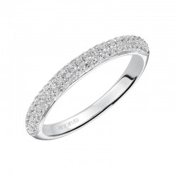 Tabitha 14K White Gold WEDDING BAND