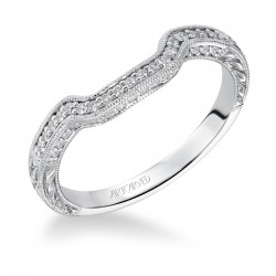 Alura' 14K White Gold WEDDING BAND