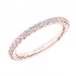 Wren 14K Rose Gold WEDDING BAND