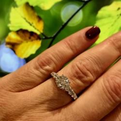 Forevermark Center Round Diamond Engagement Ring