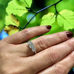 Forevermark Past Present Future Ring