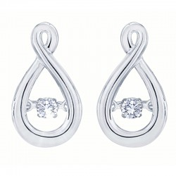 Dazzling Diamonds teardrop Earrings