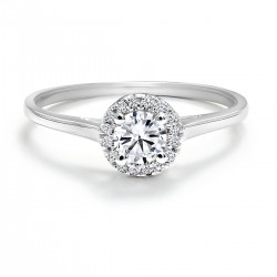 Black Label Center of the Universe Engagement Ring