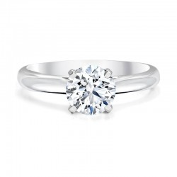 Black Label Round Diamond Solitaire