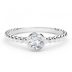 The Forevermark Tribute® Collection Diamond Stackable Ring
