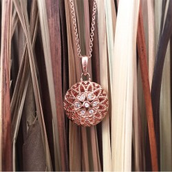 Laney Locket Necklace (RG)
