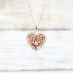 Mary Locket Necklace (RG)