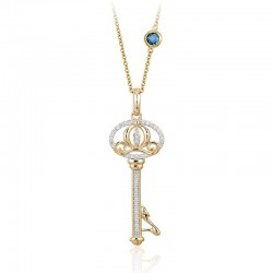 Cinderella Carriage Key Pendant