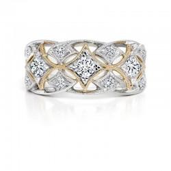 Black Label Diamond Anniversary Ring