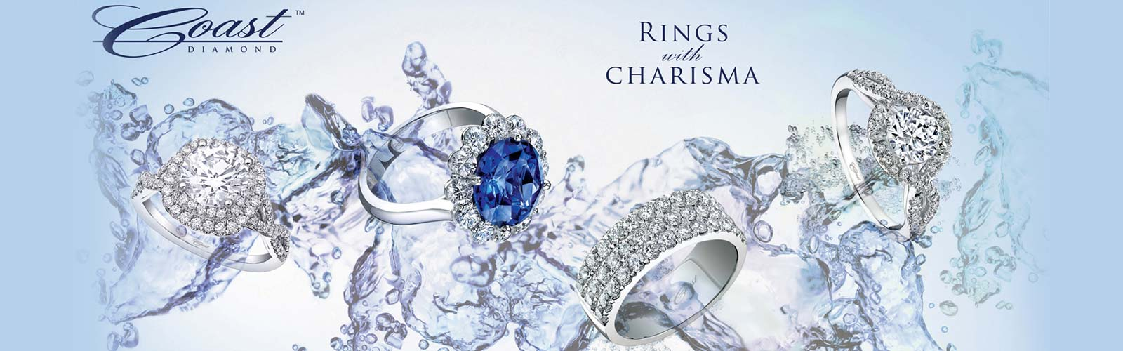 Coast Rings with Charisma