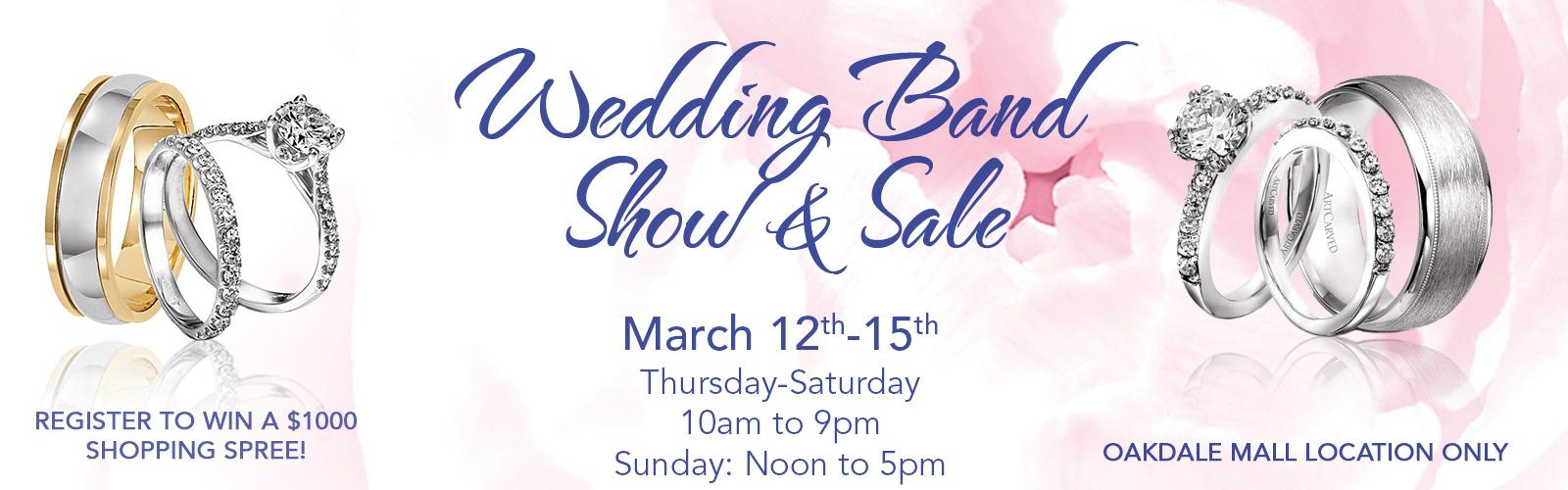 Wedding Band Show & Sale