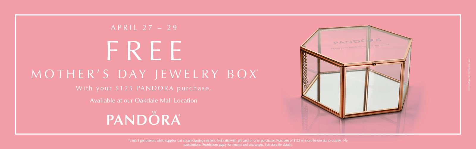 Pandora Free Jewelry Box!