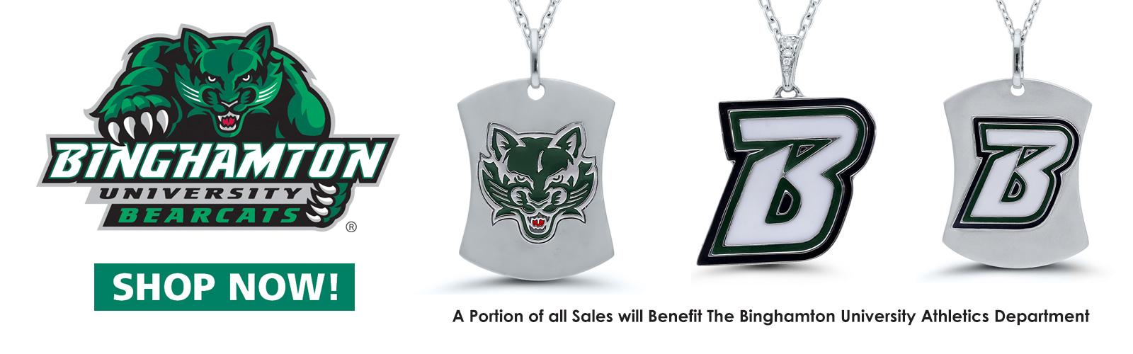 Binghamton Bearcats Jewelry