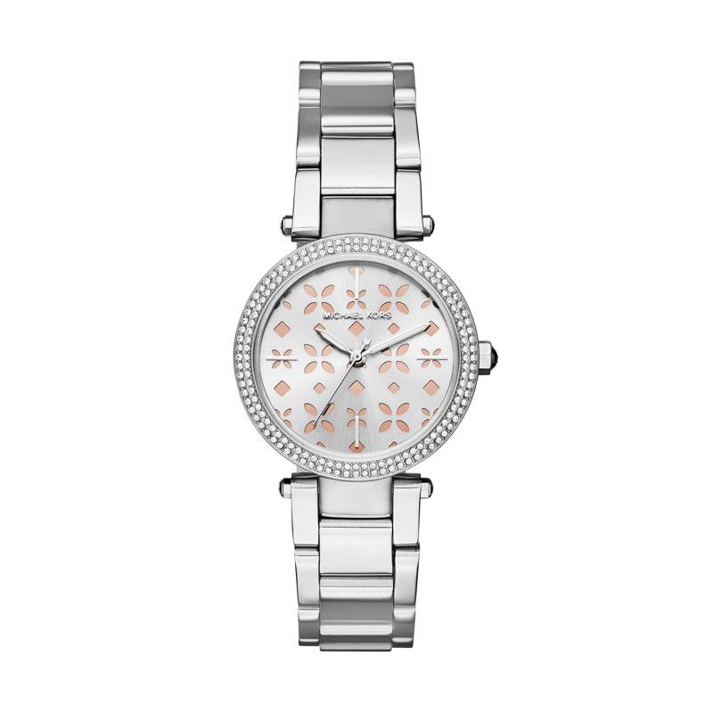 c7fe3b750c18 Mini Camille White Dial Gold Tone Rn Tt Stainless Steel Michael Kors Watch  - 281-MK6448